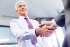 Handshake of businessmenoncepts - soft focus Stock Photography