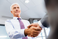 Handshake of businessmenoncepts - soft focus Royalty Free Stock Photography