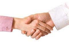 Handshake of businesspeople Stock Photography