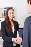 Handshake with businesspeople Royalty Free Stock Photography