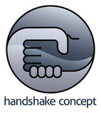 Handshake Circle Concept Royalty Free Stock Image