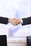 Handshake in closeup Royalty Free Stock Image