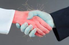 Handshake concept Stock Image