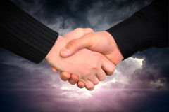 Handshake concept Royalty Free Stock Photography