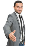 Handshake dell'uomo d'affari Immagini Stock Libere da Diritti