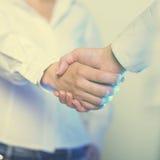 Handshake della stretta di mano Fotografia Stock Libera da Diritti