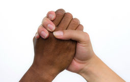 Handshake of friendship Royalty Free Stock Image