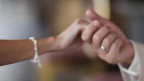 Handshake stock video