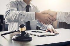 Handshake after good cooperation, Businessman handshake male law stock images
