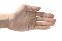 Handshake hand Royalty Free Stock Photos