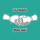 Handshake 3 Stock Photo