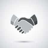Handshake icon Royalty Free Stock Images