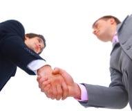 Handshake Isolated Royalty Free Stock Photos
