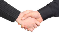 Handshake isolated Royalty Free Stock Images