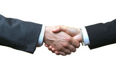 Handshake isolated Royalty Free Stock Photo