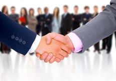 Handshake isolated on business Stock Image