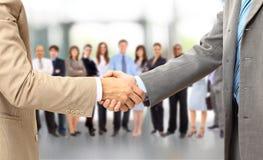 Handshake isolated on business Royalty Free Stock Photography