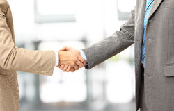 Handshake isolated in office stock images