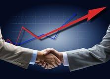 Handshake Isolated On White Royalty Free Stock Image
