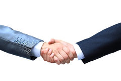 Handshake isolated Stock Images