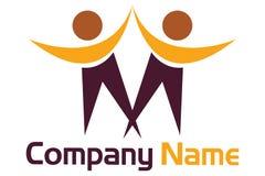 Handshake logo Stock Image