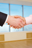 Handshake after negotiations Royalty Free Stock Photo