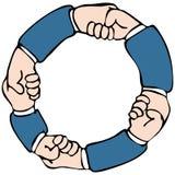 Handshake Network Stock Image