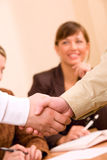 Handshake Of Business People Royalty Free Stock Images