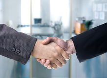 Handshake in Office Stock Photography
