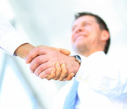 Handshake in office. Royalty Free Stock Photography
