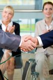 Handshake of partners Royalty Free Stock Image