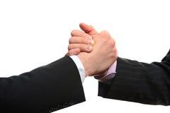 Handshake Partners Stock Images