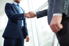 Handshake of partners Royalty Free Stock Images