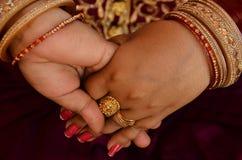 Handshake Pose Of Two Hand