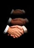 Handshake(special f/x) Stock Photo