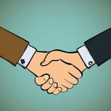 Handshake. Stock  illustration. Stock Image