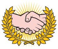 Handshake symbo Stock Photos