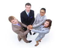Handshake and teamwork Royalty Free Stock Image