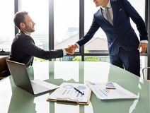 Handshake Teamwork Collaboration Colleagues Concept.  Royalty Free Stock Photos