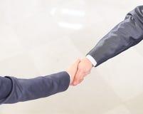 Handshake of the two businessmen, Stock Photo