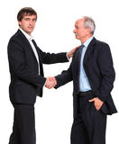 Handshake of two businessmen Royalty Free Stock Image