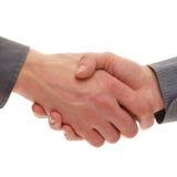 Handshake between two businesspersons Stock Photo