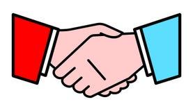Handshake. Vector Illustration Stock Images