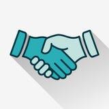 Handshake. Vector illustration eps-10 vector illustration