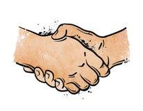 Handshake. vector illustration Royalty Free Stock Image