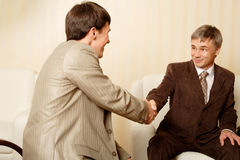 Handshake2 Royalty Free Stock Photos