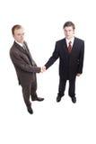 Handshake4 royalty-vrije stock foto