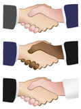 Handshakes Royalty Free Stock Photo