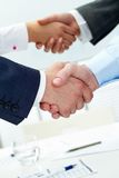 Handshakes Stock Photography