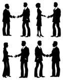 Handshakes Stock Image